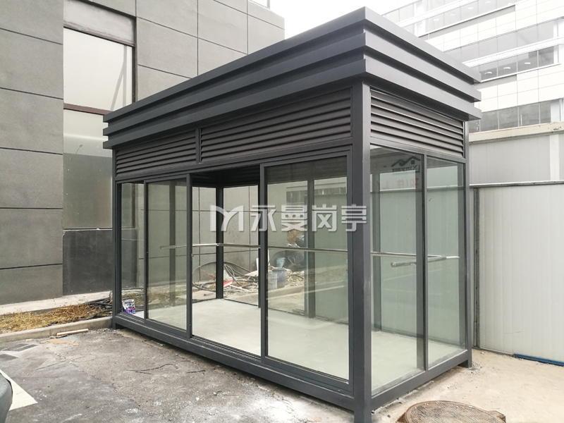 上海科大智能工厂室外吸烟亭