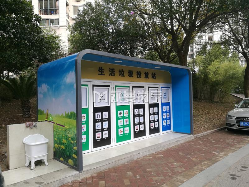 浙江宁波奉化小区垃圾房