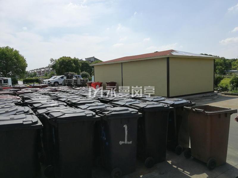 上海闵行吴江路街道垃圾中转站
