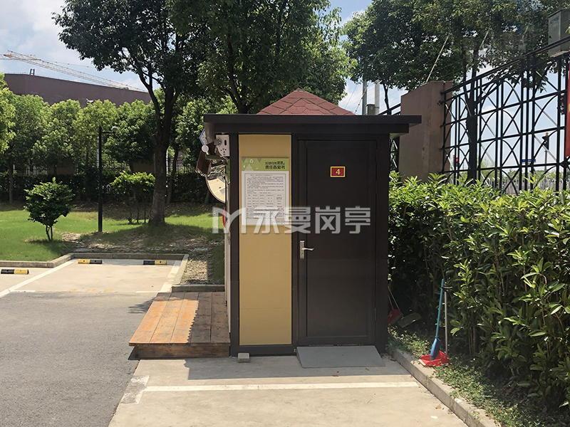 上海闵行四分类垃圾分类收集房