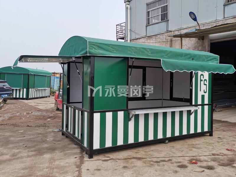 江苏盐城大丰荷兰花海景区售货亭