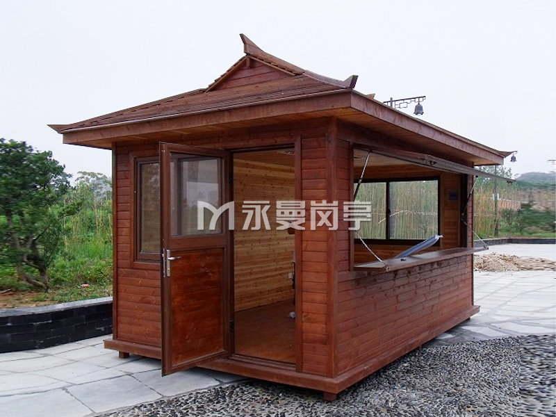 防腐木售货亭定制