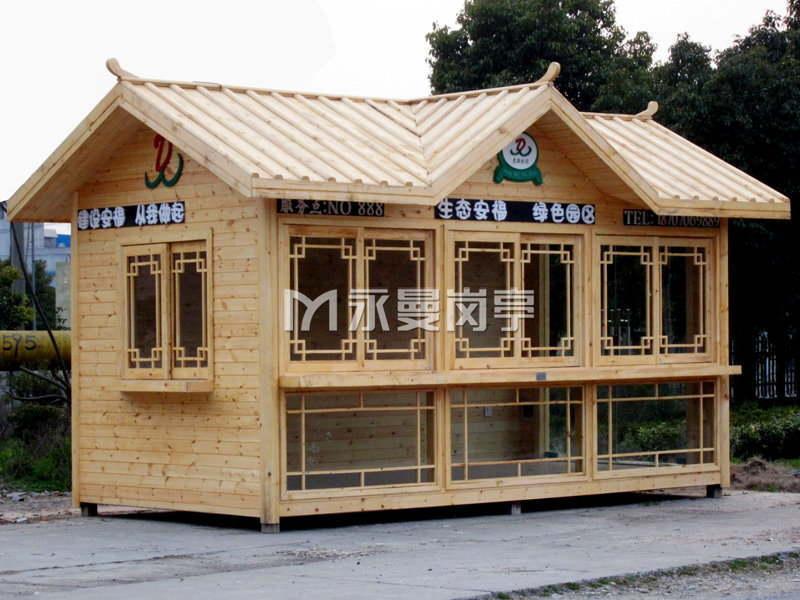 生态防腐木售货亭定制