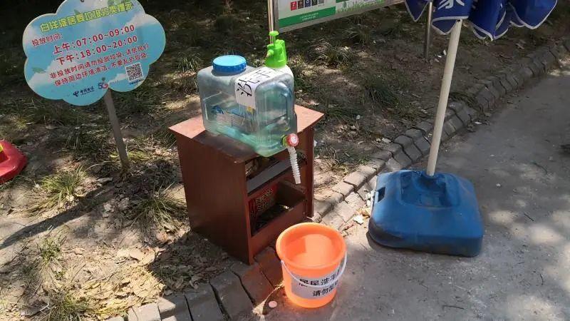 后期居民自发的洗手装置
